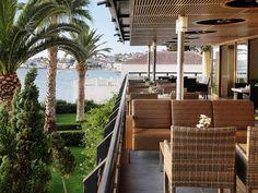 The verandah of 'Spetses'.