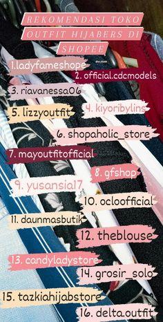 Casual Hijab Outfit, Ootd Hijab, Modern Hijab Fashion, Muslim Fashion, Online Shop Baju, Best Online Clothing Stores, Mode Abaya, Best Photo Poses, Hijab Tutorial