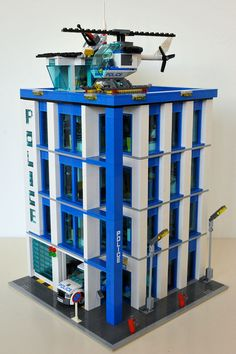 LEGO 60047 Police Station Modular MOD | Flickr - Photo Sharing!