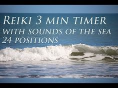 Reiki 3 Minute Bell Timer ~ Sounds of the Sea and Tibetan Bell - YouTube