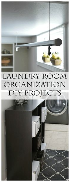 You won't want to miss this! The Ultimate Cleaning and Organization Resource: Tons of Organization DIY Project Ideas for your Laundry Room! www.settingforfour.com