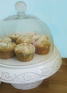 pumpkin muffins filled with cream cheese filling