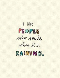 Let it rain, let it pour xD