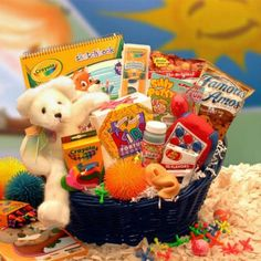 Fun Gift For Kids Stop Activity Basket