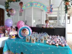 Fiesta de cumpleaños Doctora Juguetes.