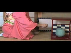 Japanese Tea Ceremony ...it is long but it is explained   in English with Japanese descriptions