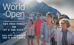 Book a Celebrity cruise and choose 2 free perks and 50% off 3rd/4th guests. Hurry, offer end Oct. 2nd. Call for details. #CelebrityCruises