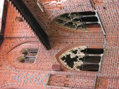 Scenes from the High Castle, Malbork Castle in Malbork, Poland Malbork Castle, High Castle, Medieval World, Knights, Barcelona Cathedral, Castles, Poland, Brick, In This Moment
