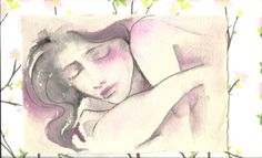 Soft Pink  Original Watercolor Painting   Pink Rose by LanasArt, $40.00