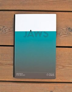 JAWS - nice use of negative space