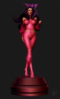 game character design model 3d best game femail girl