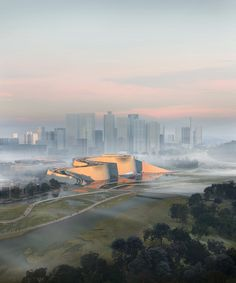 Gallery of 3XN, B+H and Zhubo Win Competition to Design the New Shenzhen Natural History Museum - 5