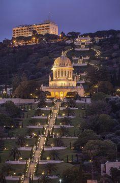 Jardines Bahá´í, Haifa, Israel  - El verdor está en el aire: jardines donde perderse