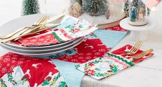 How to Sew Christmas Cutlery Wraps - Hobbycraft Blog