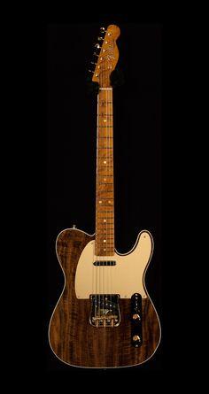 2016 Fender Custom Shop Collection - Artisan Telecaster – Claro Walnut