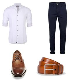 """Men's Outfit #5"" by mayrajcortez1093 ❤ liked on Polyvore featuring Topman, Stone Rose, Paul Smith, Steve Madden, men's fashion and menswear"