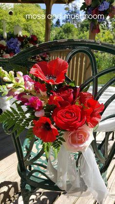 Moss and Mushroom - bespoke wedding floristry and heirloom bouquets by Liza Keane Wedding florist, Ballina Killaloe, Co. Fresh Flowers, Wedding Flowers, Stuffed Mushrooms, Bouquet, Weddings, Table Decorations, Stuff Mushrooms, Bouquet Of Flowers, Wedding