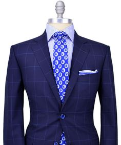 navy windowpane suit with bowtie - Google Search