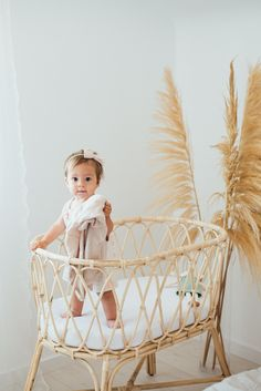 Summer is here and we've got all the dreamy rattan inspired looks to complete your nursery! Our collection is entirely handmade, natural and sustainable. Shop these looks today! Furniture Boutique, Summer Is Here, Together We Can, Baby Cribs, Bassinet, Rattan, Nursery, Inspired, Natural