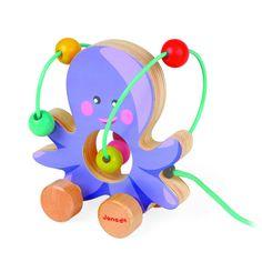 Túto nádhernú farebnú chobotničku bude vaše dieťa milovať! Hračka, ktorá nie len pobaví, ale aj cviči jemnú motoriku dieťatka :) Máte už doma podobnú hračku? Ak ešte nie, tak ju môžete kúpiť, iba teraz s 38% zľavou, na http://goo.gl/MbVYkH