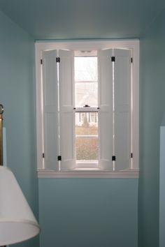 Beacon Flat Panel Full Length | Colonial Shutterworks. Interior  ShuttersWindow ShuttersRaised ...