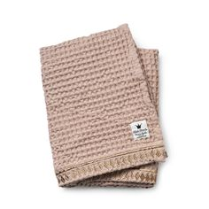 Waffle Blanket - Gilded Powder From Elodie Details BABY GEAR