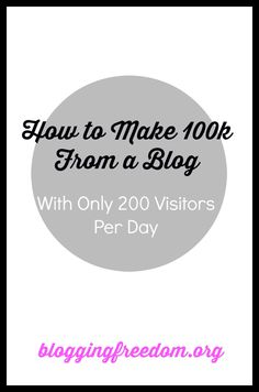 You don't need thousands of page views to make money! Check out this strategy on how you can make money with just a small audience.