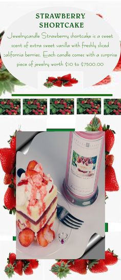Visit us at www.JewelryCandle... to check out our awesome selection! Find Jewelry In Candles ! Hope when I bake my gluten free one as I just bought berries last night, a huge ruby ring will magically appear!!!! That would really take the cake!!!