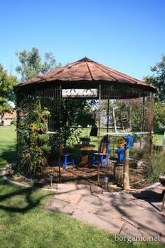 Corn Crib Gazebo. We Used To Have A Crib At The Farm, Donu0027