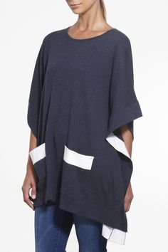 Sun-smart Cape SS2015 NINETEEN//46 NZ$249 #knitwear #fullyfashioned #summerknitwear #cotton #summer