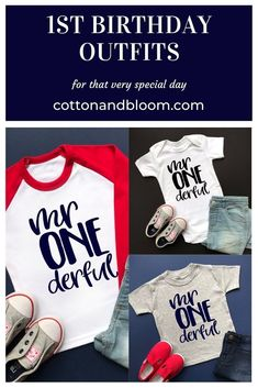 1st birthday planning 1st Birthday Shirts, 1st Boy Birthday, It's Your Birthday, Birthday Ideas, A Day To Remember, 1st Birthdays, Inspiration For Kids, Flat Lay, Party Planning