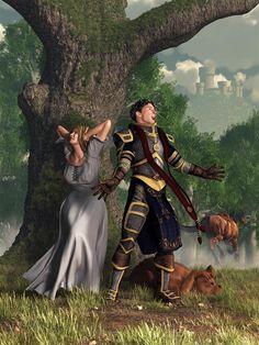 Sir Justinus The Singing Knight by deskridge.deviantart.com on @DeviantArt