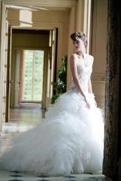 Elegantly aFLUFF | Style 007-HOLLY Designed by #Cymbeline 2014