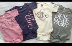 57 super Ideas for baby girl onesies vinyl baby clothes baby girl baby headbands baby room baby stuff Regalo Baby Shower, Baby Shower Gifts, Cricut Baby Shower, Silhouette Cameo, Silhouette Projects, Silhouette Machine, Vinyl Shirts, Custom Shirts, Baby Shirts