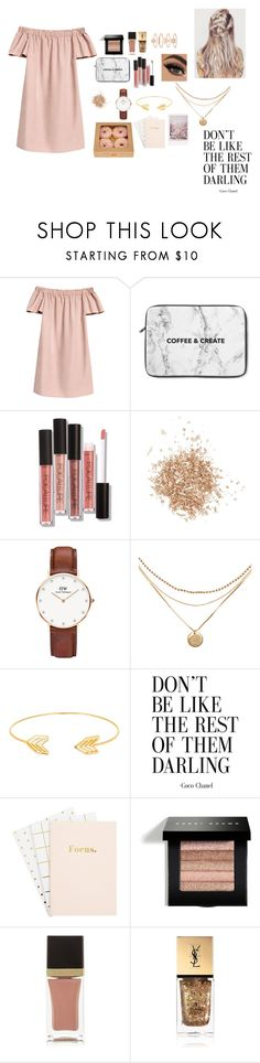 """Friday evening"" by ananyasharmad85 ❤ liked on Polyvore featuring Topshop, Daniel Wellington, Lord & Taylor, Bobbi Brown Cosmetics, Tom Ford, Yves Saint Laurent and Accessorize"