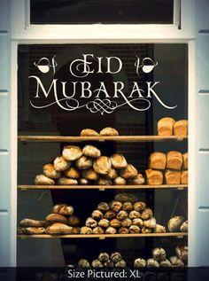 Eid Mubarak Love wall decal from Irada Arts. Free global express shipping.