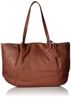 Women's Shoulder Bags - Lucky Brand Kate Tote Bag Brandy One Size ** Read more reviews of the product by visiting the link on the image.
