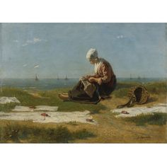 Jozef Israëls, A Young Woman from Katwijk