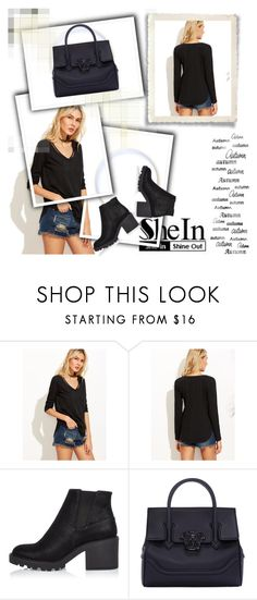 """Shein"" by dina123-1 ❤ liked on Polyvore featuring River Island and Versace"