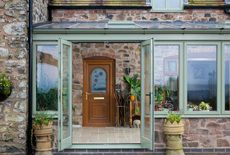 An effortless home extension, stone cottage extension