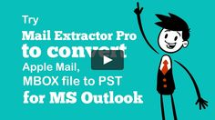 Looking for MBOX to PST Converter Tool for Mac OS X, then get a free copy of Mail Extractor Pro for your evaluation. It convert all generic *.mbox file to pst file…