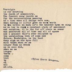 Typewriter Series #1955 by Tyler Knott Gregson