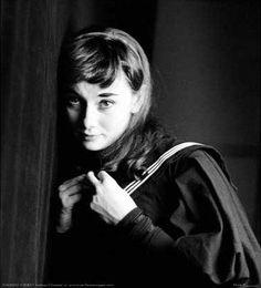 Audrey Hepburn, 1951, New York by Milton H Greene