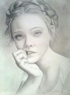 "Let Me Show You How You Too Can Draw Realistic Pencil Portraits Like A Master With My ""Truly"" Step-by-Step Guide...:"