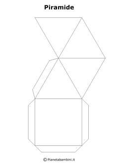 Tante figure geometriche solide in PDF per bambini pronte da stampare gratis, ritagliare e costruire con carta o cartoncino e da incollare Art Area, Paper Crafts, Diy Crafts, Figurative Art, Art School, Geometry, Art For Kids, Origami, Coding