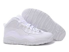 Air Jordan 10 shoes-Cheap Men's Nike Air Jordan 10 Shoes All White 10 Shoes For Sale from official Nike Shop. Cheap Jordan Shoes, Michael Jordan Shoes, Cheap Nike Air Max, Nike Shoes Cheap, Air Jordan Shoes, Jordan Sneakers, Cheap Air, Jordan 10, Jordan Retro 10