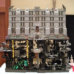 The Batcave/Wayne Manor at Brickworld 2010