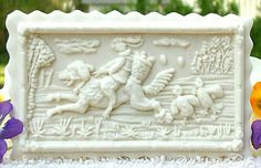 1716 Easter Rabbit Express SPRINGERLE Cookie or Marzipan Mold | eBay