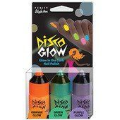 "DISCO GLOW by Ferity Style Pen. $11.99. Transforms your everyday nail color to ""Hip Disco Colors"". FREE...Nail Polish Remover with Every Order. Orange Glow, Green Glow, Purple Glow--3294. Special Shipping Information: This item is non-returnable and is not available for 2-day shipping due to additional shipping requirements. Glow In The Dark Nail Polish. Glow In The Dark Nail Polish. Save 40% Off!"