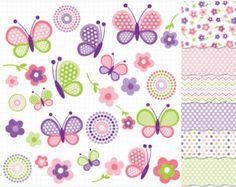 Imágenes Prediseñadas jardín de primavera por MyClipArtStore